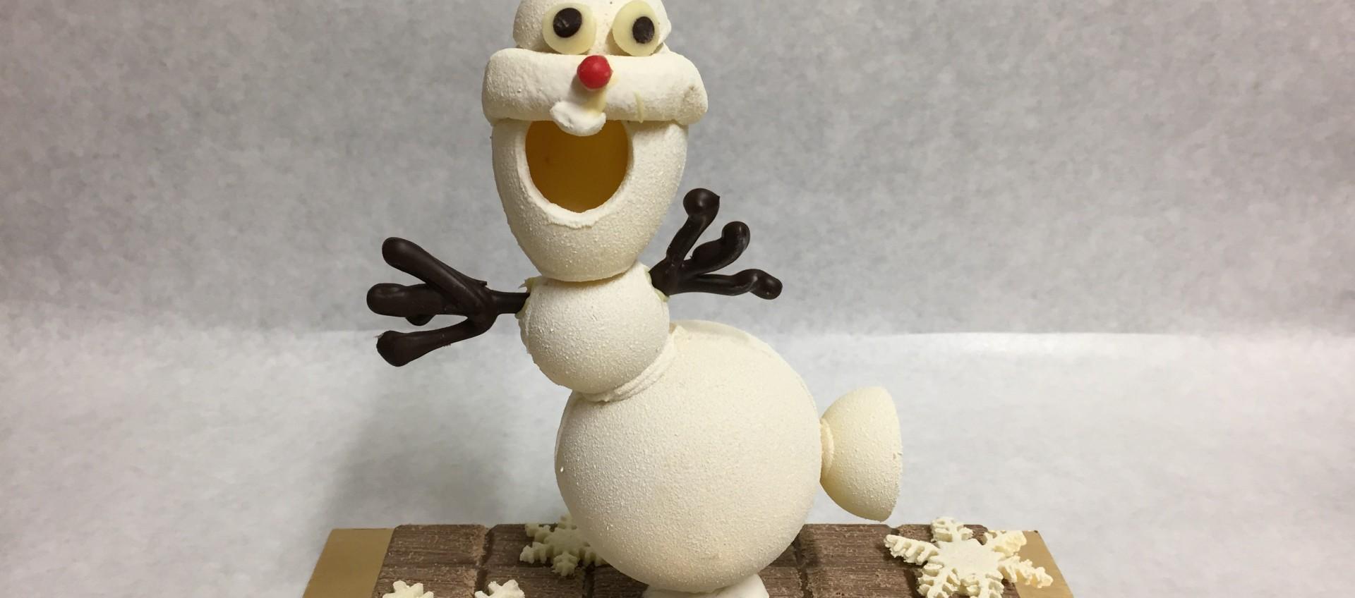 OLAF s'invite en moulage chocolat pour PAQUES